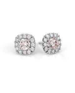 Festive Janette diamantörhängen / morganit14-567-060MK-VK-HSI1