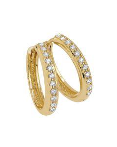 Gyllene ringörhängen EE1166-01