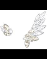 Swarovski Lake Pierced Earring and Ear Cuff -korvakorut 5387134