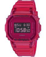 Casio G-Shock Color Skeleton Series, röd klocka DW-5600SB-4ER